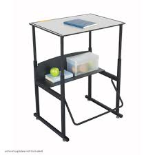 Open Front Desk Safco Products Alphabetter Metal Adjustable Height Open Front