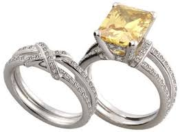wedding rings topaz images Yellow topaz and diamond engagement rings wolly rings jpg