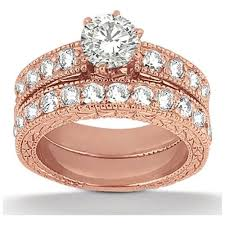 golden rings ebay images Amazing rose gold wedding rings jpg