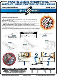 Landscape Lighting Wire by Lightingshrink Landscape Lighting Connections Professional Anti
