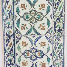 Beautiful Tiles by Intricate Iznik Tiles Still Mesmerising Fashion Today