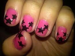 10 red and black nails design pink and black nail design cute