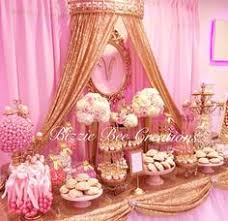 Pink Wedding Candy Buffet by The Candy Brigade Blush U0026 Gold Wedding Candy Buffet Blush
