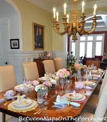 Easter Decorating Ideas Table Setting by Celebrate Spring With A Floral U0026 Bunny Table Setting