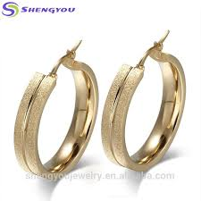 shengyou factory fantacy design gold plated 316l stainless steel