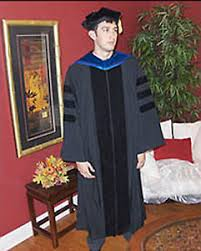 doctoral graduation gown new doctoral graduation gown and tam package ebay