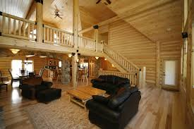 100 log homes interiors saddle notch ranch log great room