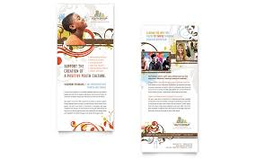 church youth group rack card template word u0026 publisher
