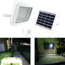solar powered outdoor motion lights solar powered outdoor flood lights get off w motion sensor high