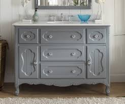 48 inch bathroom vanity cottage style light cabinet