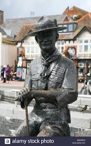 Robert Baden Powell Centenery Memorial Statue To Robert Baden Powell Founder Of The