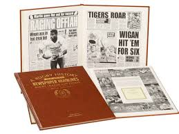 birthday yearbook rugby league history memorabilia book historic newspapers