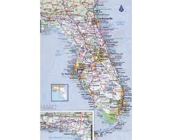 Map Of The Keys Map Of Florida In The Usa Showing Some Cities Full Size Florida