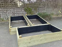 raised bed garden soil home outdoor decoration