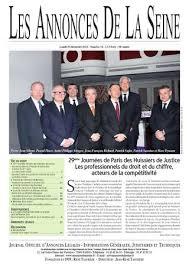 chambre nationale des huissiers de justice annonce edition du lundi 30 décembre 2013 by annonces de la seine issuu