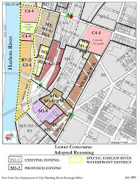 New York City Council District Map by Lower Concourse Rezoning Archives Cityland Cityland
