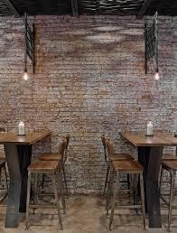 restaurant high top tables tessa new york 2014 bates masi architects architecture