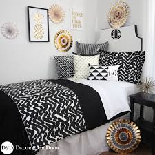 Black White Gold Bedroom Ideas Incredible Bedroom Ideas For Teenage Girls Black And White And Top