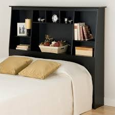full size bookcase headboard slant back tall full queen bookcase headboard in black bsh 6656