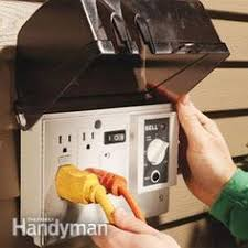 the best ways to run power to the outdoors electrical wiring