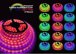 Outdoor Led Light Strips Firetoys 7m Indoor Outdoor Led Strip Light Multi Colour