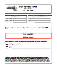 Fax Cover Sheet Template Pdf Masshealth Fax Cover Sheet Free Create Edit Print