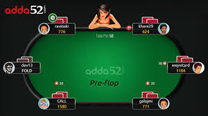 Texas Holdem Table by Texas Holdem Poker Rules Adda52