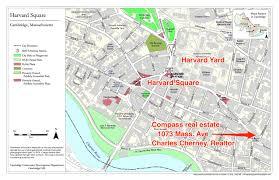 Harvard Map West Cambridge Neighborhood In Cambridge Massachusetts