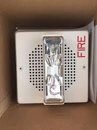 new cooper wheelock wall fire alarm strobe speaker 24vdc e70