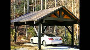 how to build attached 2 car carport plans pdf loversiq