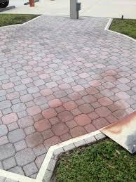 Painting Patio Pavers by Coloring Brick Pavers Staining Brick Pavers National Sealing Co