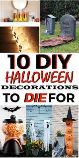 10 diy halloween decorations to die for diy halloween
