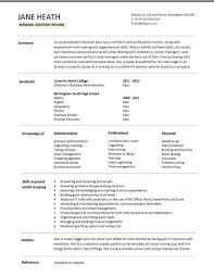 Resume Templates Builder Prissy Ideas Student Resume Format 4 Resume Examples Graduates