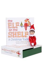 the elf on the shelf a christmas tradition boxed set with