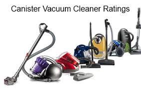 Canister Vaccum Vacuum Ratings