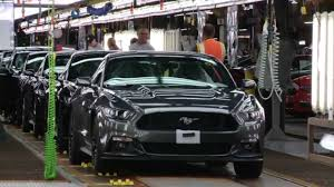 ford mustang assembly plant tour ford mustang export flat rock assembly plant automototv