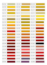 ral color chart ral colour chart part 1 ral colour chart part 2