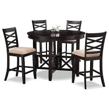 Dining Room Furniture Americana Espresso  Pc CounterHeight - Value city furniture dining room