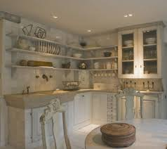 kitchen shelves instead of cabinets kitchen idea