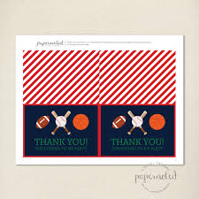 sports thank you cards what is christmas all about mountain