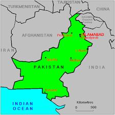 world map pakistan karachi islamabad on world map emaps world