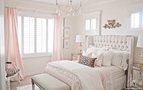 Tween Bedroom Pink And Gold U0027s Bedroom Makeover Randi Garrett Design