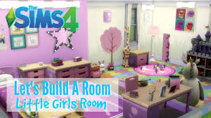 the sims 4 let s build a room little girls room youtube