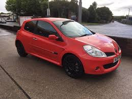 renault red used renault clio red for sale motors co uk