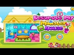 decorate my monster house house decorating game for girls mafa