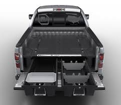 bed of truck decked adds drawers to your pickup truck bed for maximizing