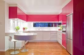 cuisine mur framboise 1001 ères superbes de faire éclater la déco avec la couleur