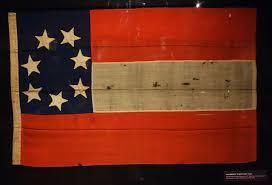 Civil War Union Flags File Confederate U0027stars And Bars U0027 Flag Captured At Columbia