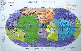 Map Of Tectonic Plates 2011 Volcano Quake Map April Jpg