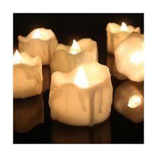 led tea lights with timer 24 flameless led tea lights flicker glow like candles ebay